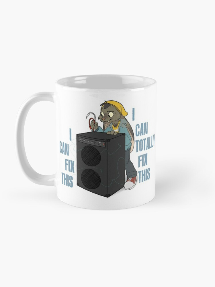 Alternate view of $ELLOUT$ - Riley can fix this mug Mug