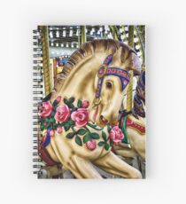 Run For The Roses Spiral Notebook