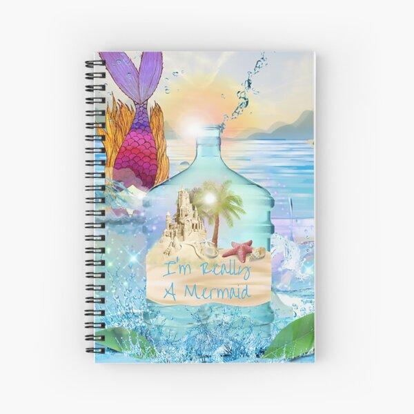Mermaid Vibes Spiral Notebook