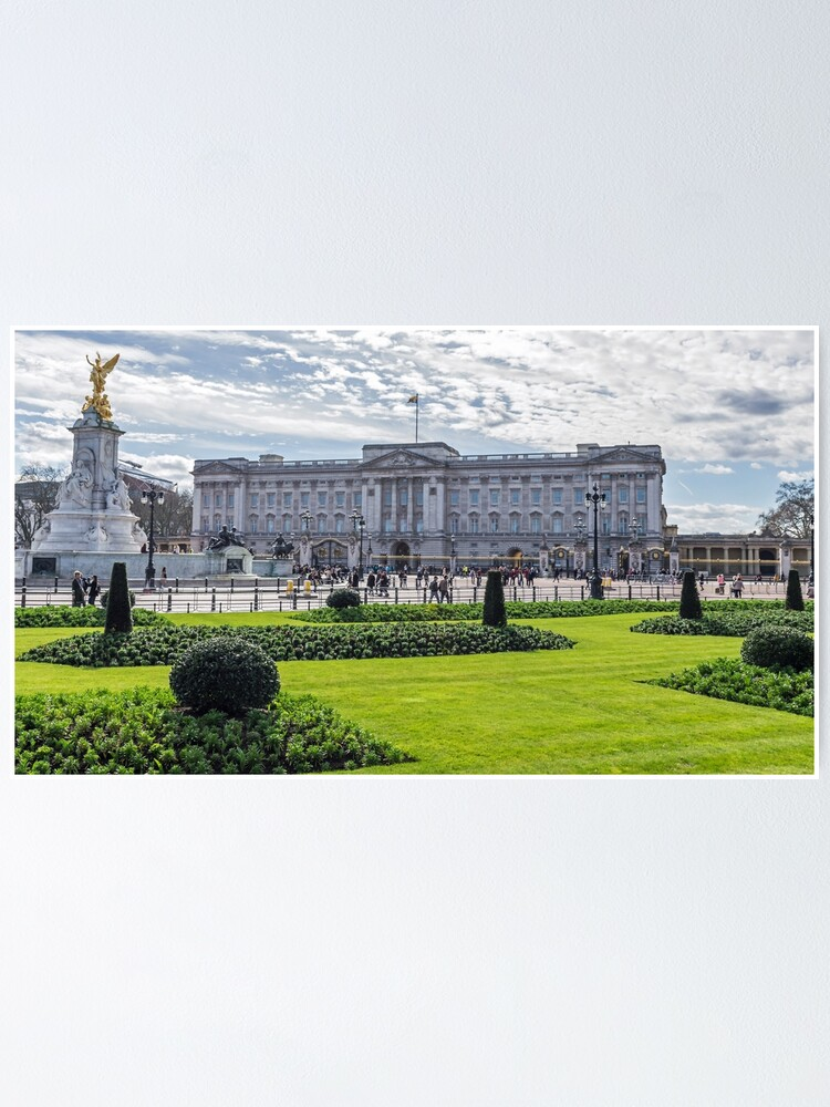 Alternate view of Buckingham Palace view, London Poster