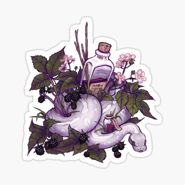 Blackberry potion Sticker