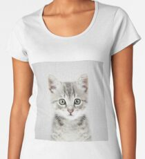Kitten - Colorful Women's Premium T-Shirt