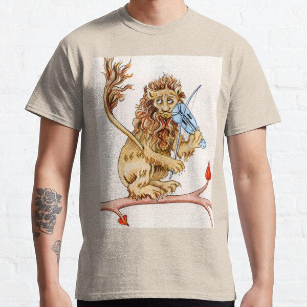 THE FIDDLING LION Classic T-Shirt
