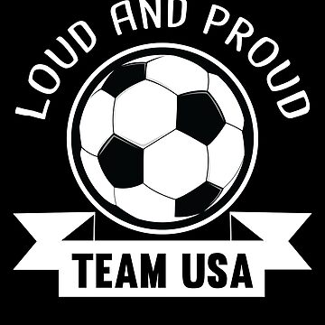 USA National Team Soccer Fan Shirt by allsortsmarket