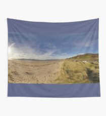 Lisfannon Beach, Fahan, County Donegal, Equirectangular  Wall Tapestry