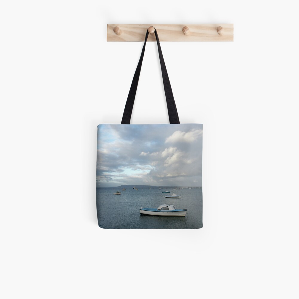 Boats on the Bay, Sorrento Tote Bag
