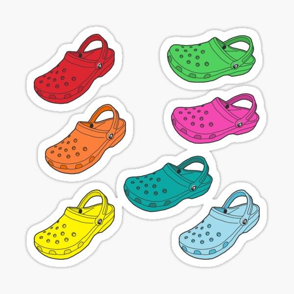 Rainbow Croc Sticker Pack Sticker