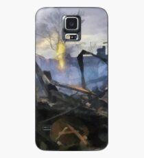 Sandy versus Anarchy Case/Skin for Samsung Galaxy
