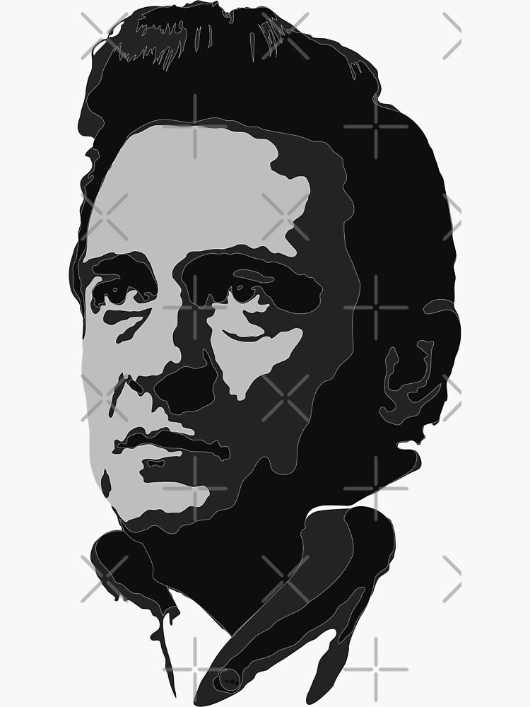Johnny Cash by eschavox