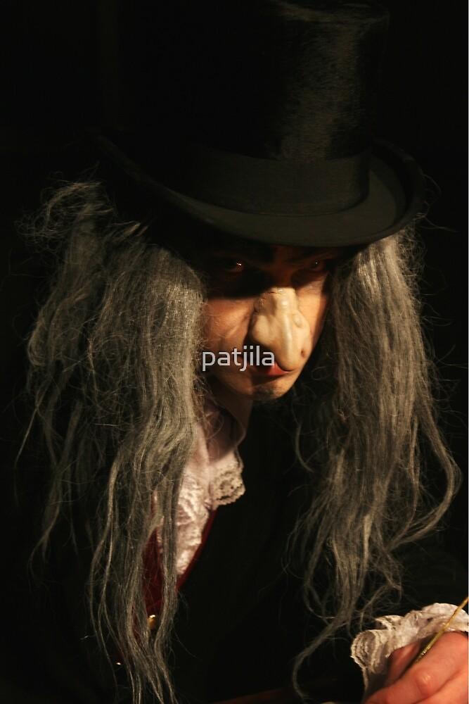 Ebenezer Scrooge on his best by patjila
