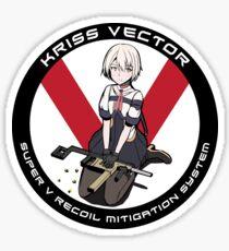 Girls' Frontline KRISS Vector T-Doll Sticker