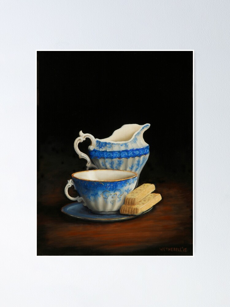 Alternate view of Afternoon Tea Poster