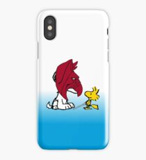 Battle Snoopy and He-Bird iPhone Case/Skin