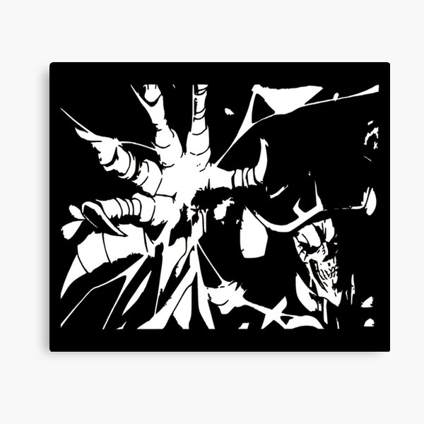 Overlord Ainz Ooal Gown Canvas Print