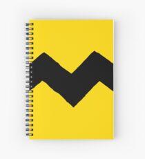 Charlie Brown t-shirt Spiral Notebook