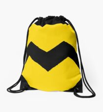 Charlie Brown t-shirt Drawstring Bag