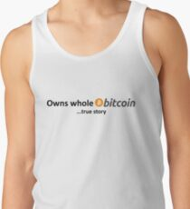 Owns Whole Bitcoin... true story Men's Tank Top