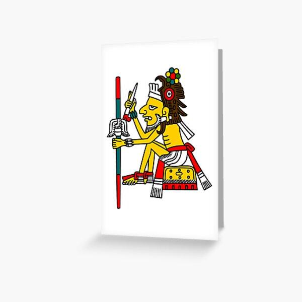 Mixcoatl Greeting Card