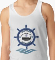 Captain Awesome - Life of a Mariner Tank Top