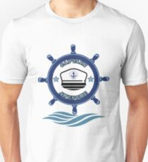 Captain Awesome - Life of a Mariner Unisex T-Shirt