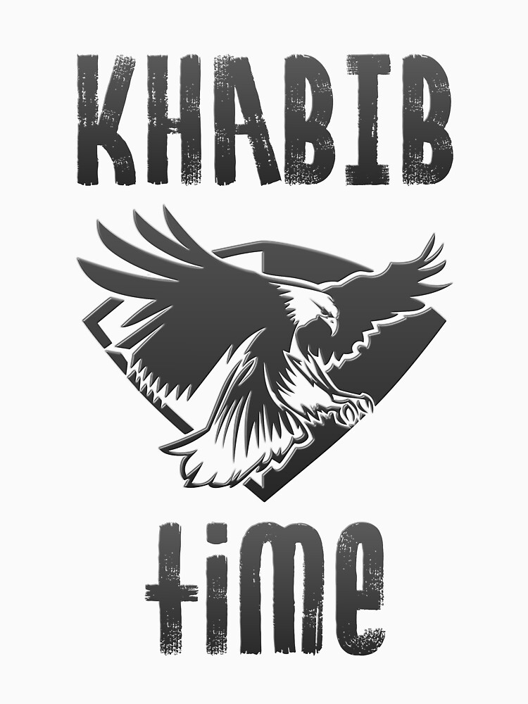 Khabib Time Nurmagomedov Eagle MMA Fan Art T-shirt by vicekingwear