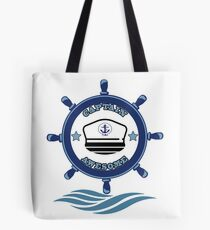 Captain Awesome - Life of a Mariner Tote Bag
