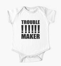 troublemaker One Piece - Short Sleeve