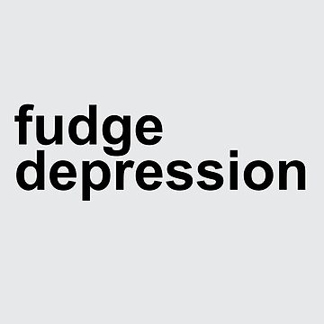 Fudge Depression by Lightfield