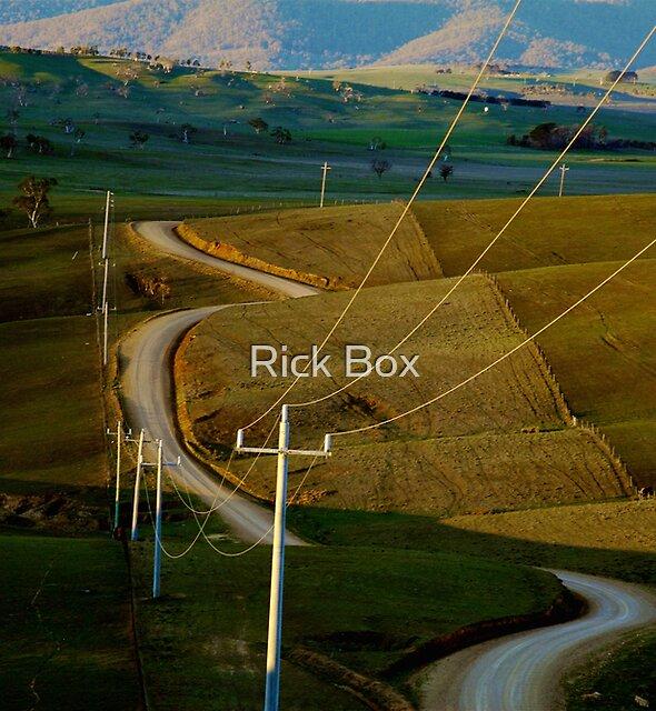 Blowhard Road - Benambra, Australia by Rick Box