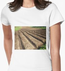 farmland Women's Fitted T-Shirt