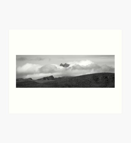 Mount Kenya Art Print
