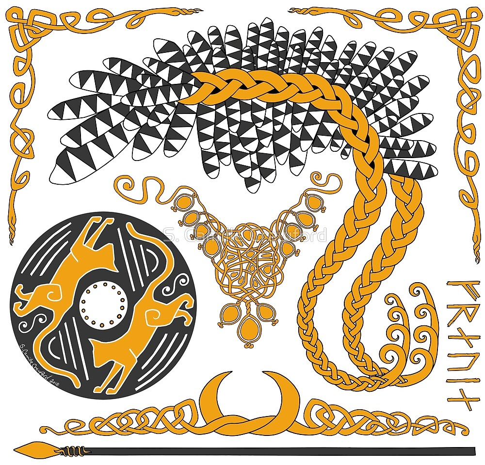 Freyja - Gold by S. Camille Crawford