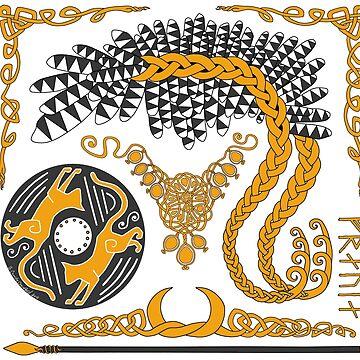 Freyja - Gold by CorpseCafe