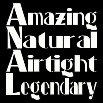 Amazing - Natural - Airtight - Legendary by PETRIPRINTS