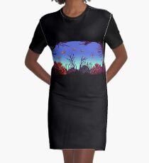 Black Reef - ohms' Custom Worms Armageddon Level Graphic T-Shirt Dress