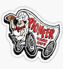 Pioneer Chicken Sticker