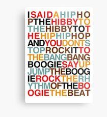 Rapper's Delight - Sugarhill Gang Metal Print