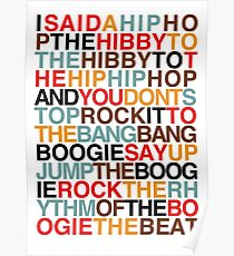 Rappers Freude - Sugarhill Gang Poster