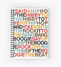 Rapper's Delight - Sugarhill Gang Spiral Notebook