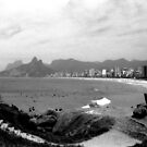Arpoador Rocks and Ipanema Beach by Guilherme Pontes