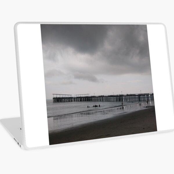 Pier, #Pier, New York City, #New, #York, #City, #NewYork, #NewYorkCity Laptop Skin