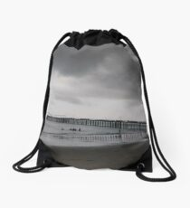Pier, #Pier, New York City, #New, #York, #City, #NewYork, #NewYorkCity Drawstring Bag
