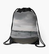 Pier, #Pier, New York City, #New, #York, #City, #NewYork, #NewYorkCity Drawstring Bag