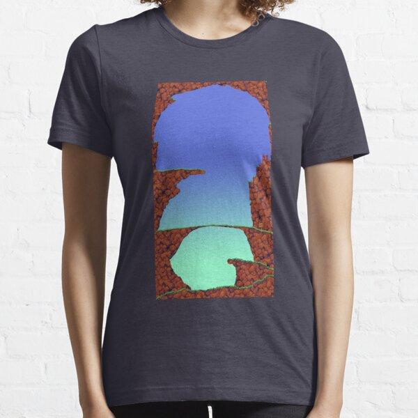 Blue Cavern (Worms 1) - ohms' Custom Worms Armageddon Level Essential T-Shirt