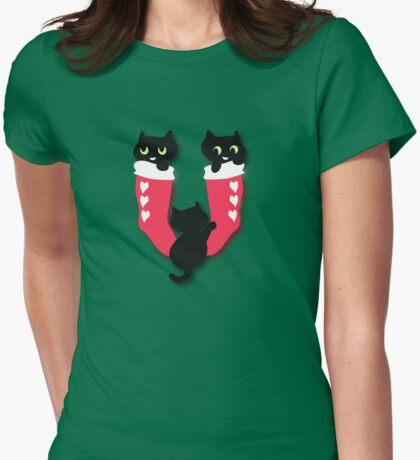Filled Christmas Socks T-Shirt