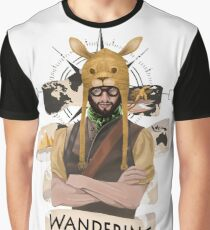 Wandering Adventurer Graphic T-Shirt