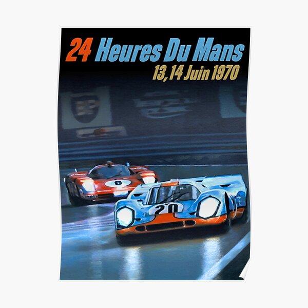 1970 Le Mans Poster
