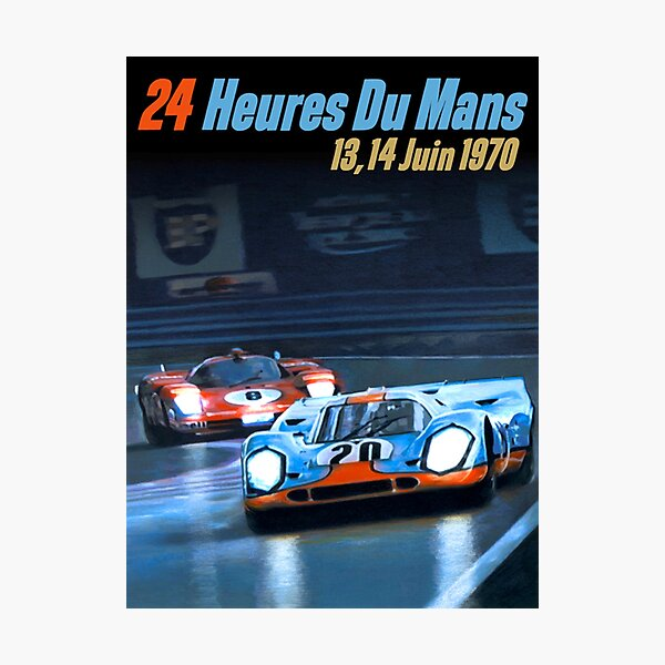 1970 Le Mans Photographic Print