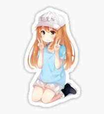 Platelet | Hataraku Saibou (Cells at Work) Sticker