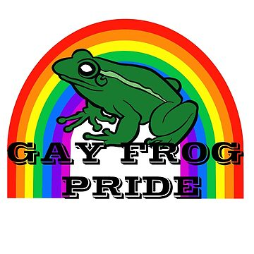 Gay Frog Pride by artpirate
